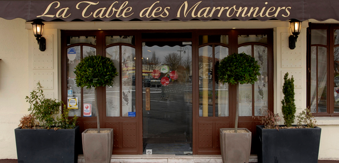 Restaurant la table des Marronniers